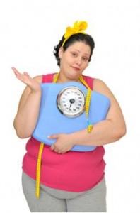 obézna, tučná žena
