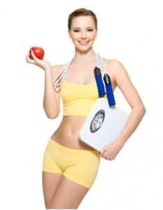 diéta na chudnutie - žena