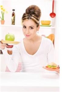 zdravé chudnutie - žena