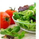 zelenina - chudnutie