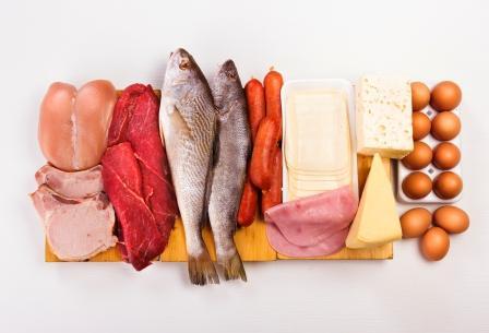 Nutričné a energetické hodnoty mäsa na stole – hydina, bravčové, hovädzie, ryby,..